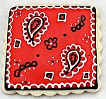 decorated cookie by Sweet Sugar Belle