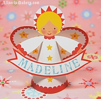 allsorts Christmas angel printable