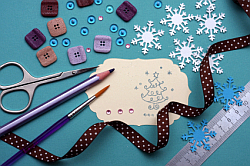 embellishments on Crafty Tips