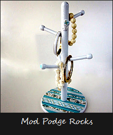 Mod Podge Rocks Craft Tutorial