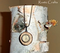 necklace craft project rustic-crafts