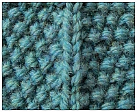 seed stitch tutorial on techknitting